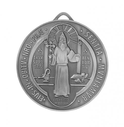 "4"" Dia St. Benedict Medal - 3/pk"