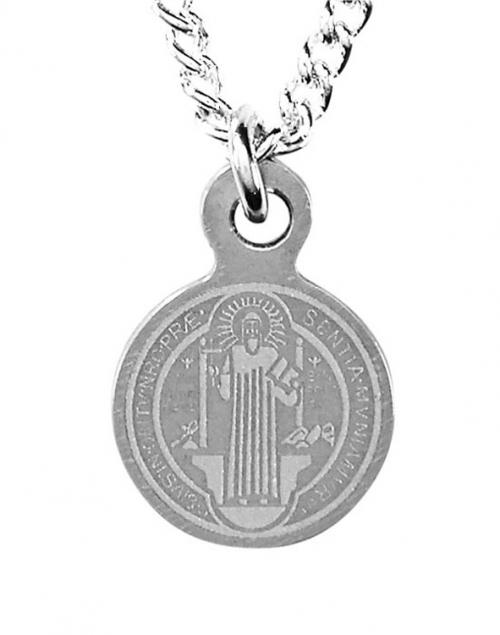 St Benedict Mini Medal Pendant