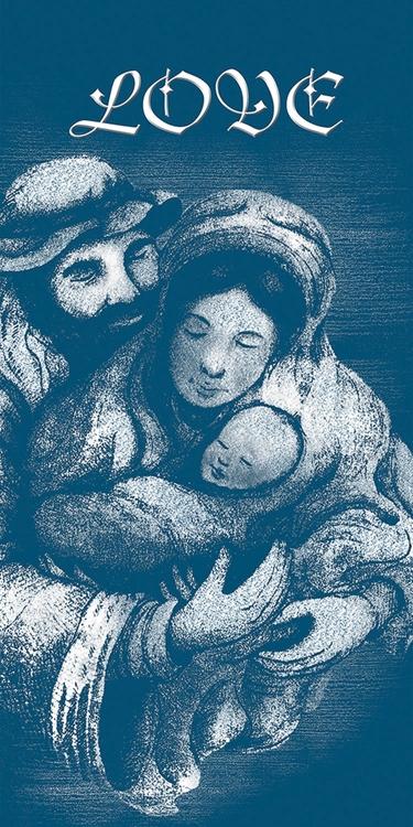 Banner Love - Holy Family