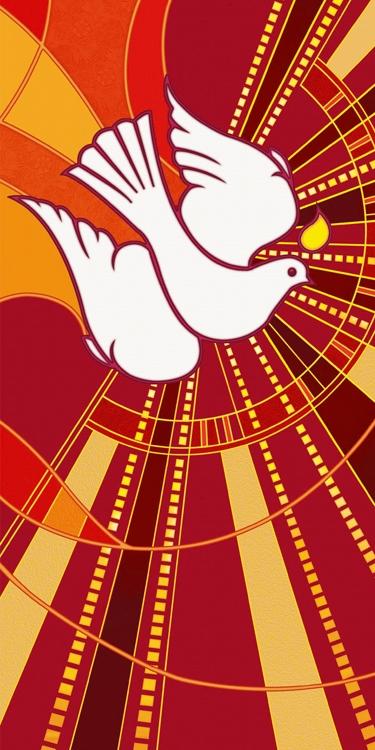 Banner: Tapestry Dove