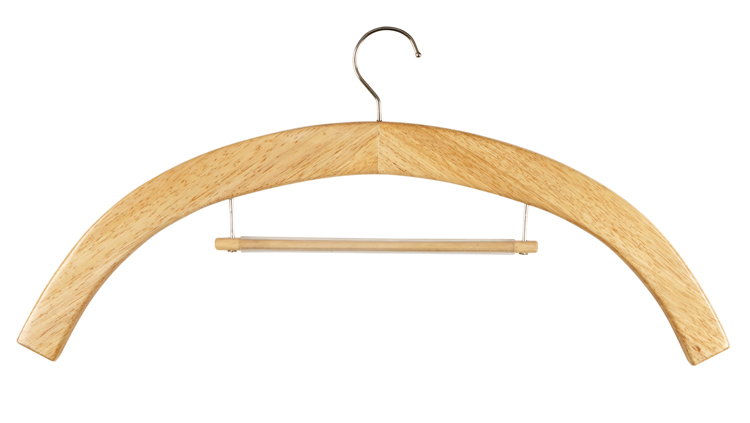 Vestement Hanger - Medium Oak - 6/pk