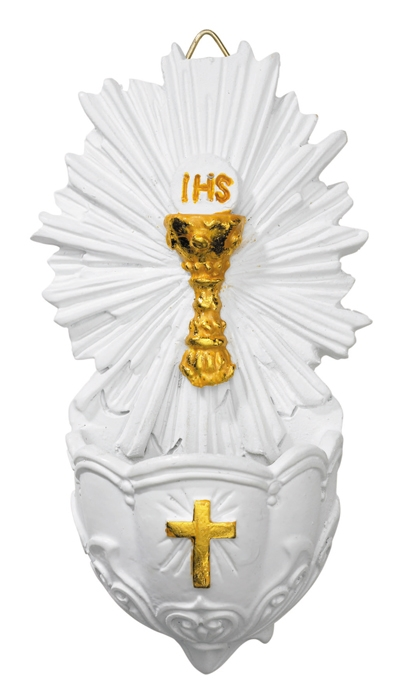 First Communion Holy Water Font