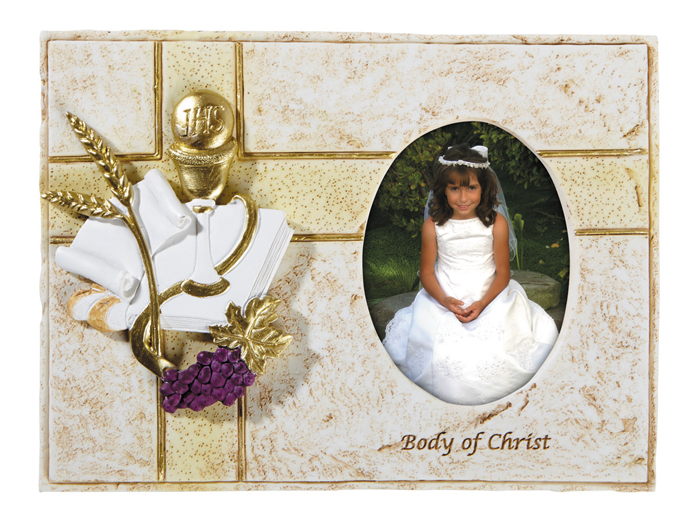 First Communion Body of Christ Photo Frame