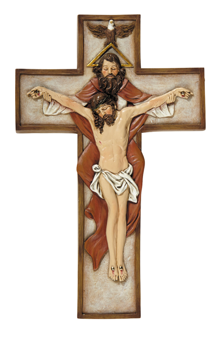 Holy Trinity Wall Crucifix