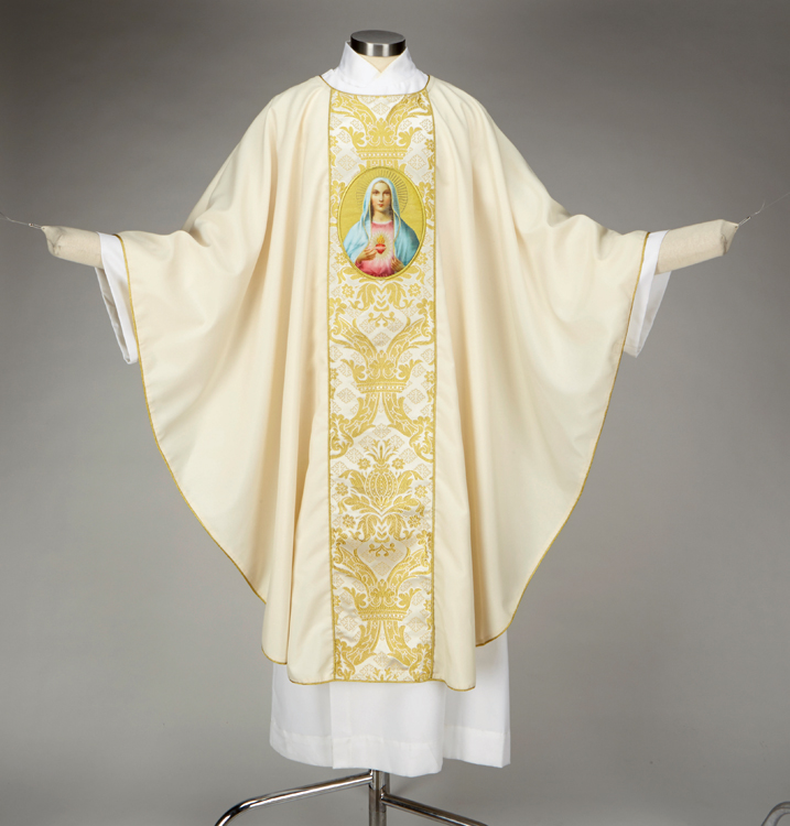 Immaculate Heart Chasuble