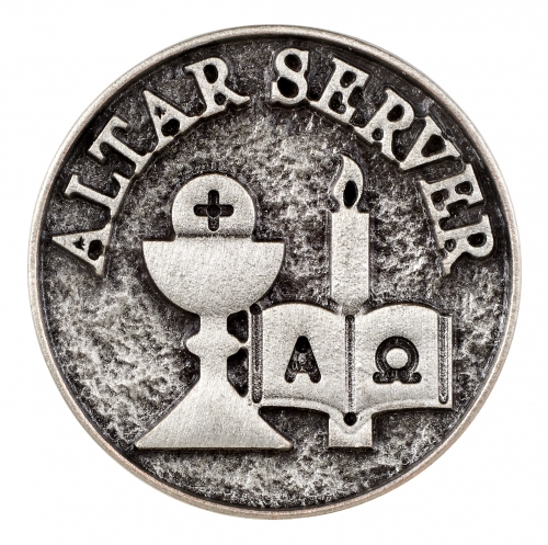 Altar Server Lapel Pin - 12/pk