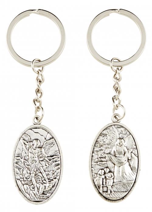 Guardian Angel/St. Michael Key Chain - 12/pk
