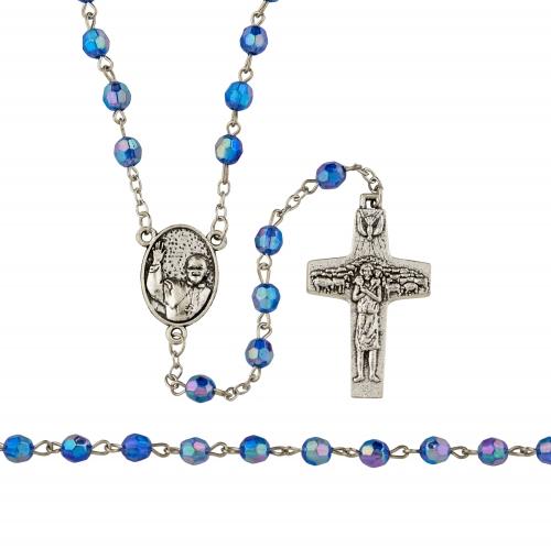 Pope Francis/Mary Untier of Knots Rosary - 12/pk