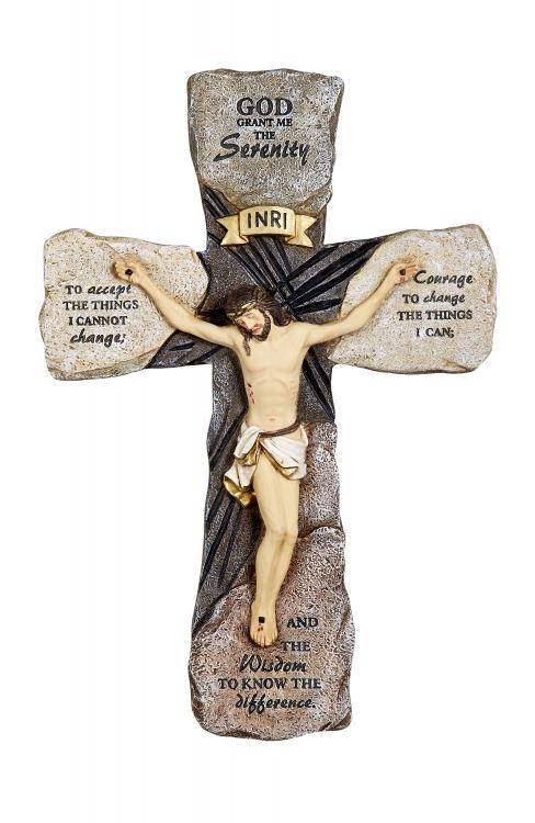 Serenity Wall Crucifix
