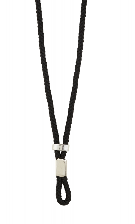 "36"" L Black Adjustable Pendant Cord - 50/pk"