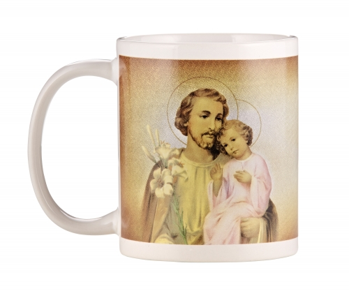 St. Joseph with Child Mug - 12/pk