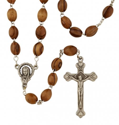 Olive Wood Rosary - 2/pk
