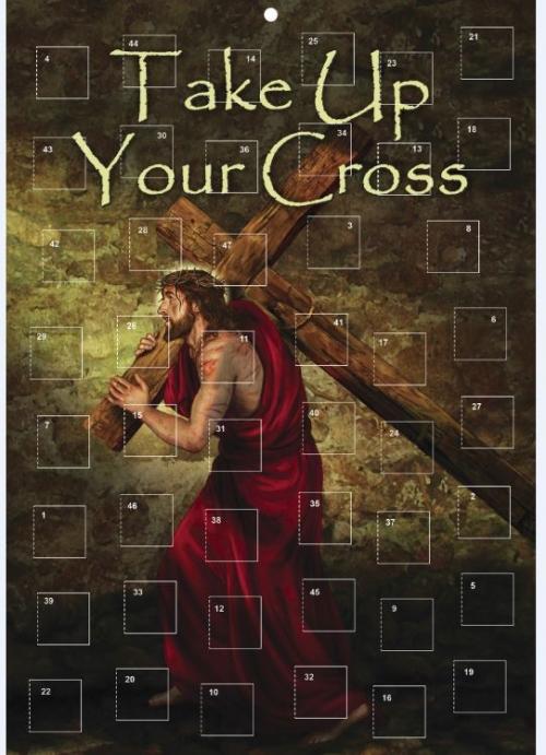 Take Up Your Cross Lenten Calendar - 12/pk