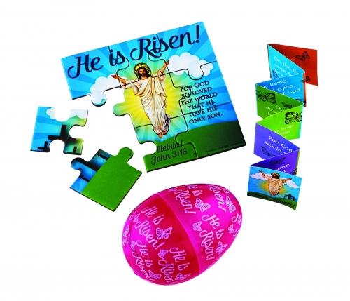 He is Risen! Easter Eggs - 24/pk