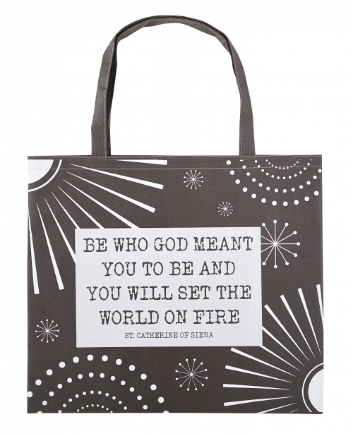 Tote Bag: Be Who God Meant You to Be 12/pk