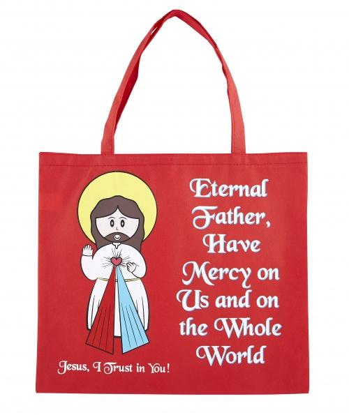 Divine Mercy Tote Bag - 12/pk