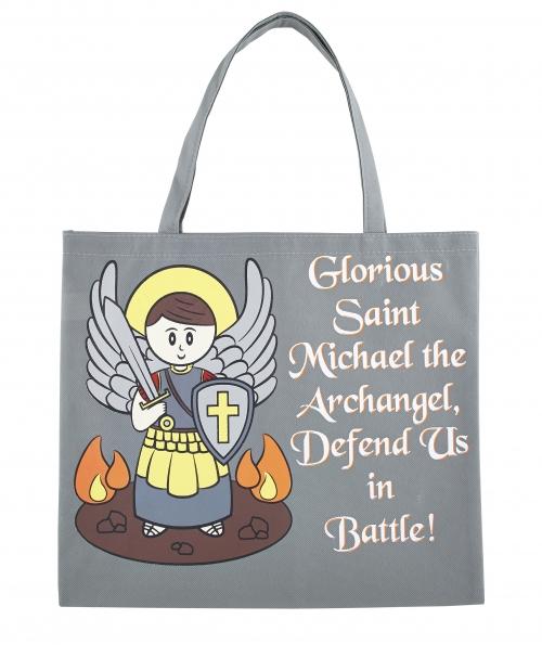St. Michael Tote Bag - 12/pk