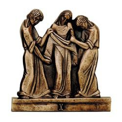 Cast Bronze Stations of The Cross - Set of 14
