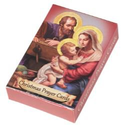 Christmas Prayers Wallet Card Assortment - 24 bx/pk