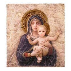 Marco Sevelli Tile Plaque - Madonna and Child