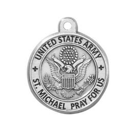 Creed® Heritage Collection St. Michael Medal - Army
