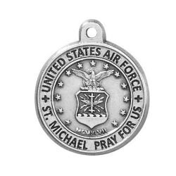 Creed® Heritage Collection St. Michael Medal - Air Force
