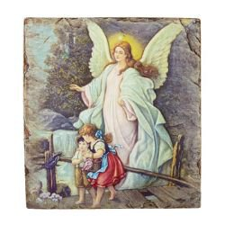 Marco Sevelli Tile Plaque - Guardian Angel