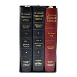 Saint Joseph Weekday & Sunday Missal 3-Volume Set
