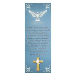 Holy Spirit Lapel Pin with Bookmark - 12/pk