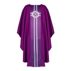 Lucia Collection Chasuble - Crown of Thorns