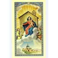 Our Lady Loreto Laminated Holy Card - 25/pk