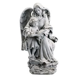 Avalon Gallery™ Guardian Angel and Child Statue