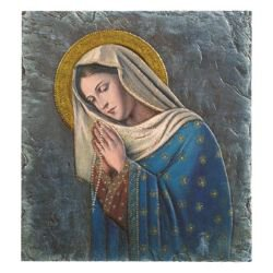 Marco Sevelli Tile Plaque - Our Lady of the Rosary