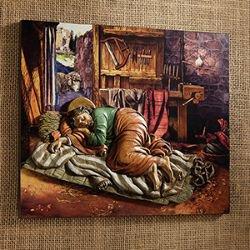 Sleeping St. Joseph 10 x 8.5