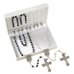 Wedding Rosaries Gift Set