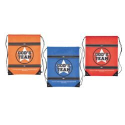 God's Team Backpack Assortment (3 Asst) - 12/pk