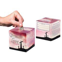 No Greater Love Family Lenten Offering Box - 50/pk