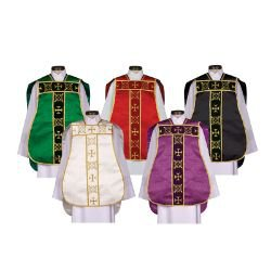 Roman Chasuble with Accessories - Set of 5