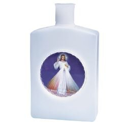 Divine Mercy Holy Water Bottle - 12/pk