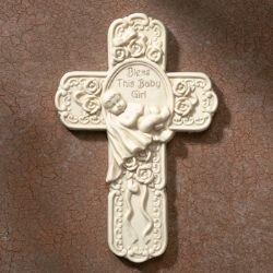 Tomaso Baby Girl Cross