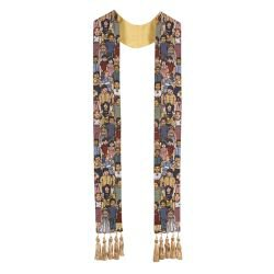 Children of the World Tapestry Overlay Stole