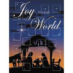 Joy to the World Advent Calendar - 12/pk