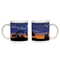 A Savior is Born Nativity Mug - 12/pk