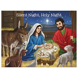 Silent Night, Holy Night Advent Calendar - 12/pk