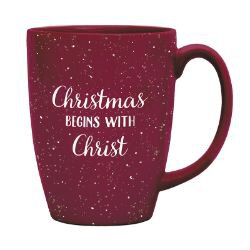 Christmas Begins with Christ Gift Mug - 6/pk