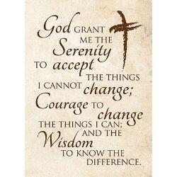 Serenity Prayer Journal - 12/pk
