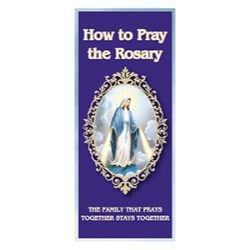 Large Print How to Pray the Rosary - 100/pk