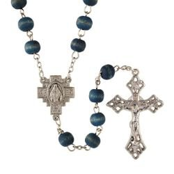 Blue Rose Scented Rosary - 12/pk