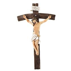 Papal Wall Crucifix - 2/pk