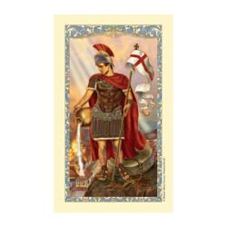 St. Florian Laminated Holy Card - 25/pk